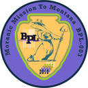 Official Insignia for BPL-003 Moranic Mission to Montana