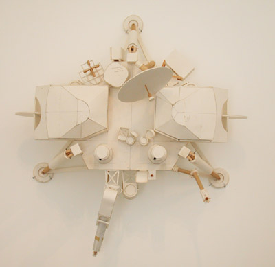 Munin Study Model, 2007, foam core, wood, paper, glue, 28 x 33 x 19 inches (71 x 84 x 48.5 cm)