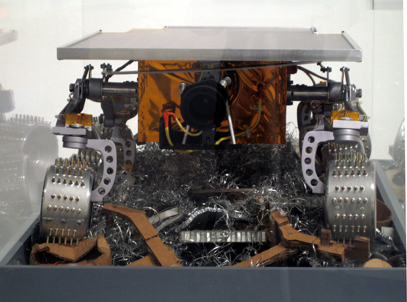 Limited Intelligence Marginally Produced Exploration Rover (LIMPER)
