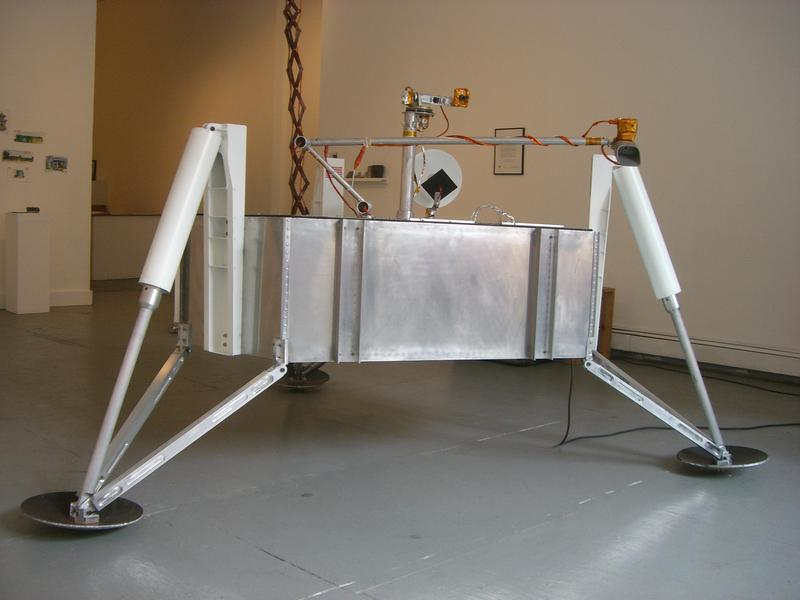 Front view of Munin(Module for Unmanned Novel Investigation and Notation) Lander at PLOT(Pre Launch Operations and Test), 2009